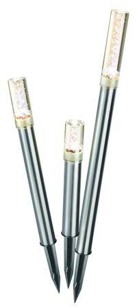 """Solar Designleuchten """"Trio Sticks"""" warmweiß 2800 K   – Bild 1"""