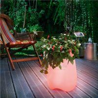 Solar LED Flowerpott – Bild 5