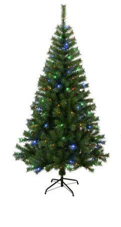 Best Season LED-Weihnachtsbaum Kalix grün, 80 Bunte LED – Bild 2