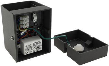 "LED Wandleuchte ""Fachada"" IP54, 2x3W, 3000K, warmweiß – Bild 5"