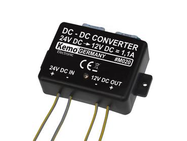 Spannungswandler  24 V/DC auf 13,8 V/DC max. 1,1 A