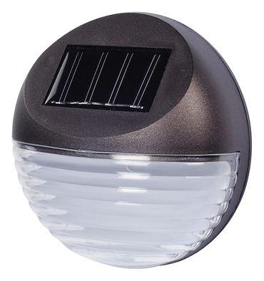 4 x LED Strahler Leuchte Zaunbeleuchtung Solar Lampe Wandleuchte Außenleuchte