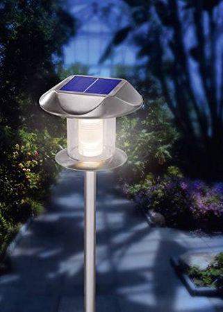 """BUVTEC Solarleuchte """"Sunnylight"""", Duo Color warm-/kaltweiß umschaltbar Steckleuchte 160102093 esotec – Bild 1"""