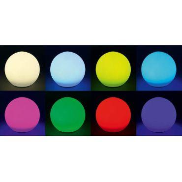 BUVTEC Solar Leuchtkugelset 30,40,50cm Solarkugel Gartenlampe Solarlampe, esotec – Bild 5