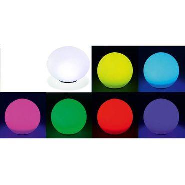 BUVTEC 2er Set Solar Leuchtkugel 30 und 20 cm Solarkugel Gartenleuchte Solarlampe – Bild 4