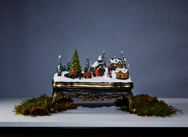 "LED-Weihnachtszene ""Glasgow"", bunt – Bild 3"