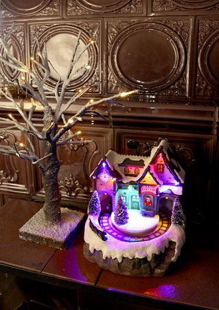 "LED-Weihnachtszene ""Train Station"" – Bild 2"
