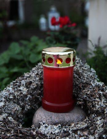 Display LED - Memorial Candle 14 cm, flackernd – Bild 2