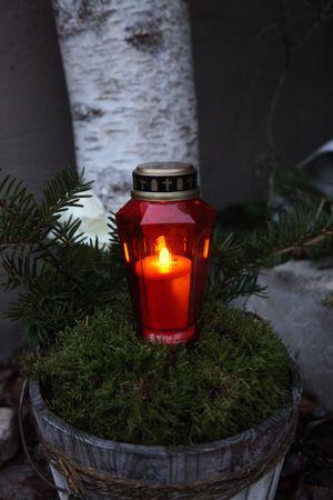 Display LED - Memorial Candle 15,5 cm, flackernd – Bild 4