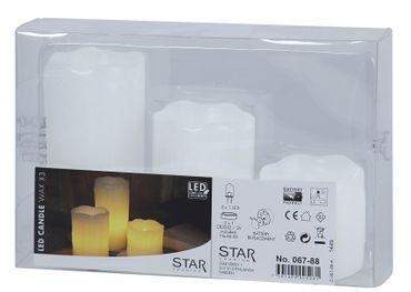 LED-Wachskerzen,3 Stück, flackernd – Bild 6