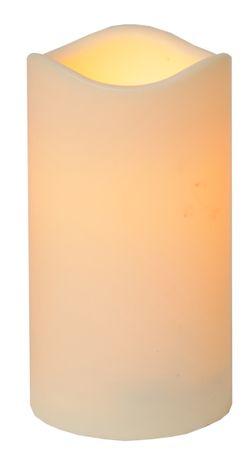 "LED-Kerze ""Paul"" aus Kunststoff, flackernd – Bild 1"