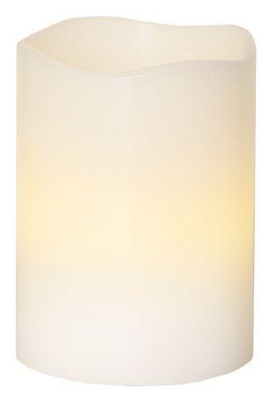 """LED-Wachskerze """"Wave"""", flackernd, weiss – Bild 2"""