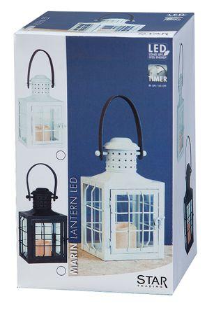 "LED-Laterne ""Lantern 30cm"", Farbe:schwarzes Metall – Bild 7"