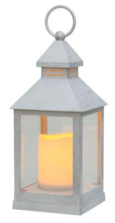 "LED-Laterne ""Agra"", weiss, Kunststoff – Bild 2"