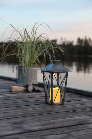 LED-Laterne,  Farbe: schwarz / verzinkt – Bild 5