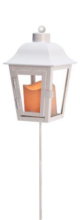 LED-Laterne, weiss, wechselbare Spitze – Bild 4