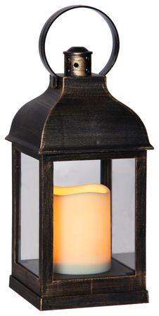 "Display ""Lantern 13 cm"", 6 tlg, flackernd, Metall – Bild 3"