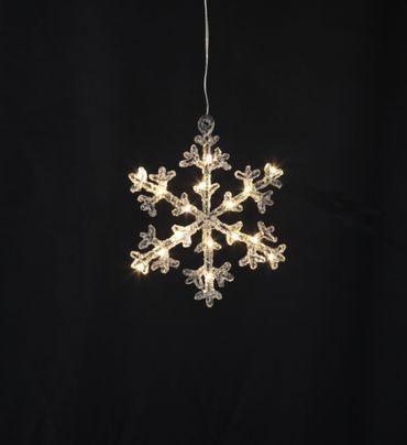 """LED-Acryl-Schneeflocke """"Icy Star"""", – Bild 3"""