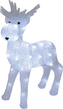"LED-Acrylrentier ""Crystal Moose"", – Bild 1"
