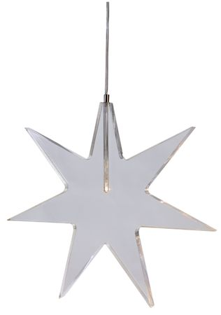 "LED-Acrylstern ""Karla"", Farbe: transparent – Bild 1"