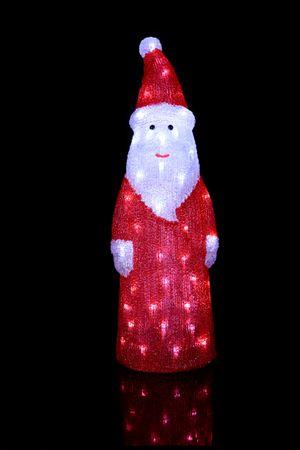 LED-Crystal Santa,stehend, 60 cool white LED – Bild 2