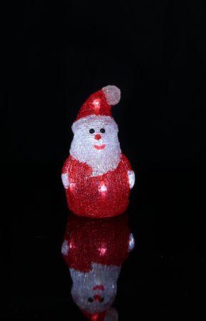 LED-Crystal Santa, 8 cool white LED – Bild 2