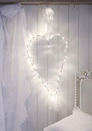 "LED-Drahtherz ""Mammas Hjärta"", – Bild 3"