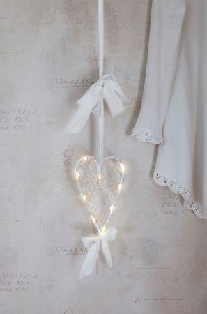 "LED-Drahtherz ""Mammas Hjärta"", – Bild 2"