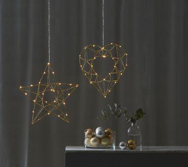 "LED-Drahtstern ""Edge"", ca. 38 cm – Bild 8"