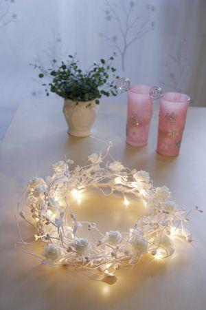 "Rosenkranz ""Rose"" mit 24 Micro-Bulbs – Bild 2"