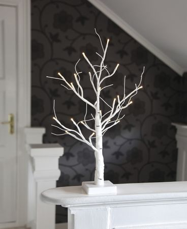 "LED-Dekobaum ""Battery Tree"", weiss – Bild 7"