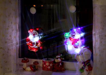 LED-Fenstersilhouette Elch, aus Kunststoff – Bild 2