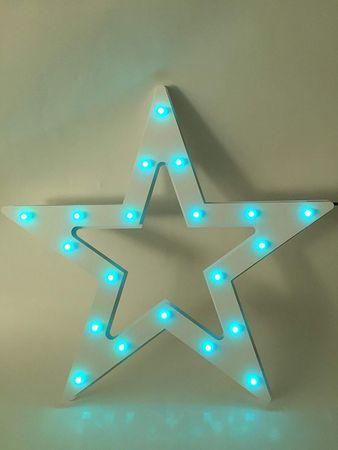 """LED-Silhouette """"Multi-Pix"""",  Stern – Bild 7"""