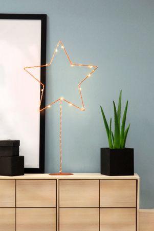 """LED-Standleuchte """"Sparkling"""", kupfern – Bild 2"""