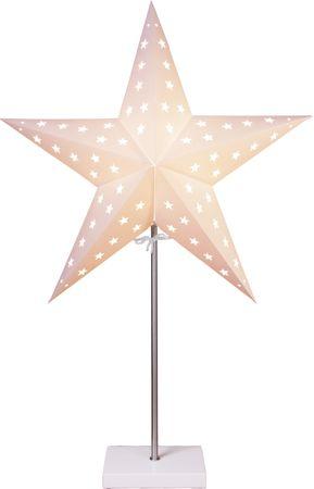 "Standleuchte ""Star"", Materal:"
