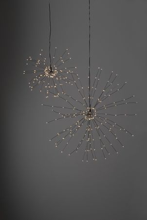 "3D-LED-Hängestern ""Firework"", schwarz, – Bild 6"