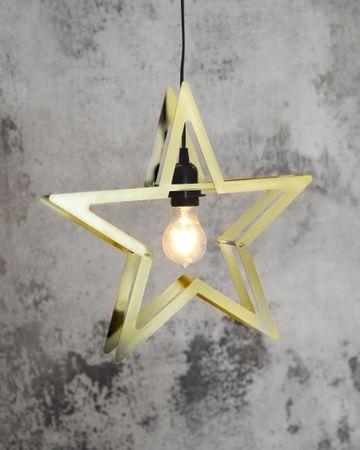 """LED-Dekostern """"Starling"""", ca.38x36cm – Bild 4"""