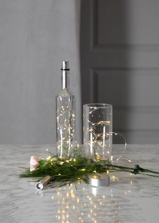 "LED-Draht-Kette ""String Dew Drops"", Puck – Bild 11"
