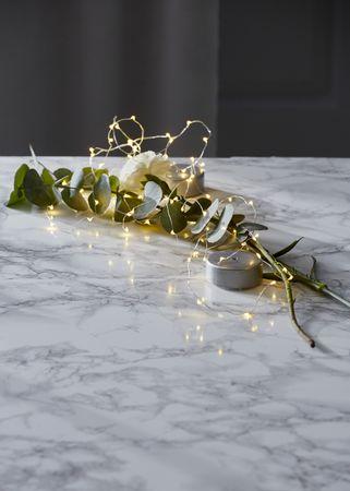 "LED-Draht-Kette ""String Dew Drops"", Puck – Bild 13"