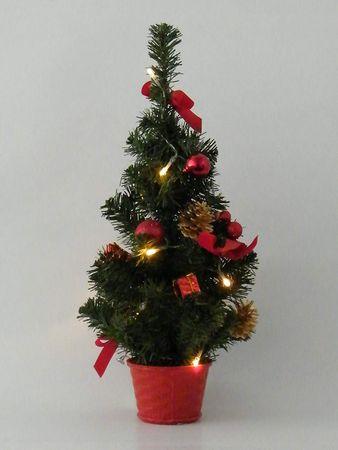 LED-Weihnachtsbaum 10 warmweisse LED Dekoration – Bild 1