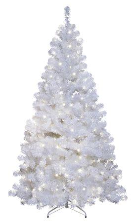 """Künstlicher LED-Weihnachtsbaum """"Ottawa"""" in weiß, 210 cm, beleuchtet"""