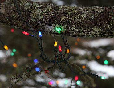 LED-Mini-Lichterkette mit Trafo, 80teilig – Bild 4