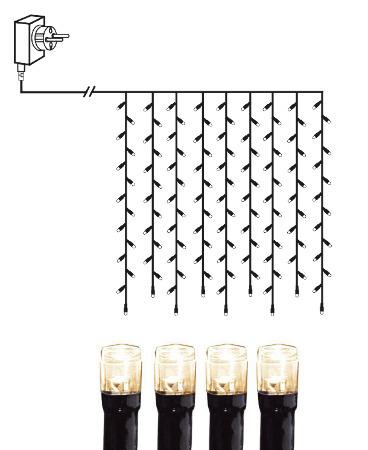 Serie Micro-LED Vorhang, 100 tlg. 1x1m – Bild 3