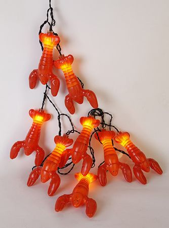 "LED-Party-Kette ""Lobster"", 8tlg. – Bild 4"
