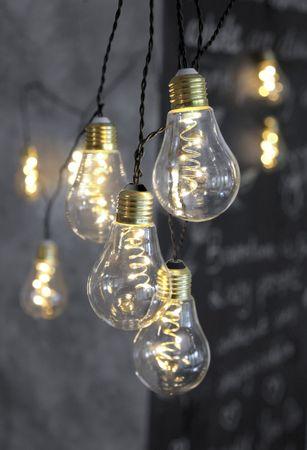 "LED-Lichterkette ""Glow"", 10teilig, klar – Bild 11"