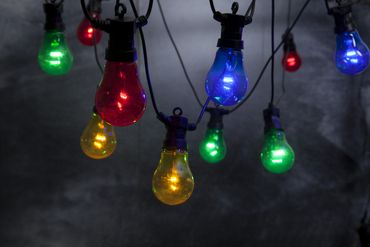 "LED-Party-Kette ""Circus"", 10teilig – Bild 3"