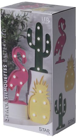 "LED-Party-Figuren ""Fruity"", 3er Set – Bild 10"