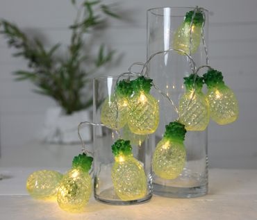 "LED-Party-Kette ""Partylight Pineapples"", 10teilig – Bild 3"