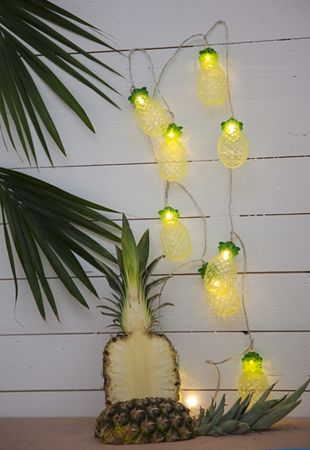 "LED-Party-Kette ""Partylight Pineapples"", 10teilig – Bild 6"