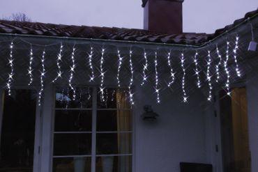 "LED-Lichtvorhang ""Waterfall"", 240 kaltweisse  LED – Bild 1"